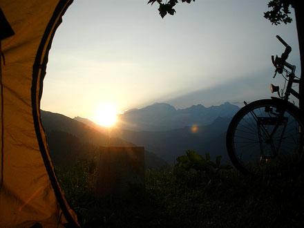 eplatzer, Mont Blanc, Col des Saisies, Camping d`Alpage des Jorets