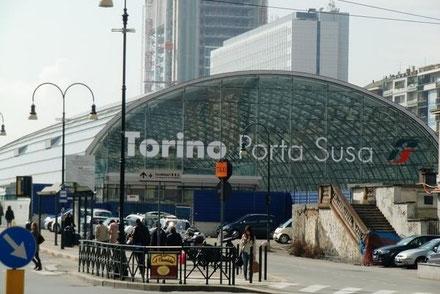 TURIN STATION PORTA SUSA