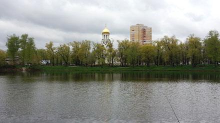 Платный пруд Белая Дача