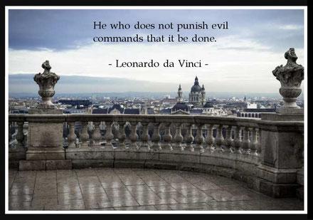 悪(不正・不道徳)を非難しない者は、 そうすれと命じているのだ。