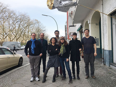 Le collectif groep à Berlin