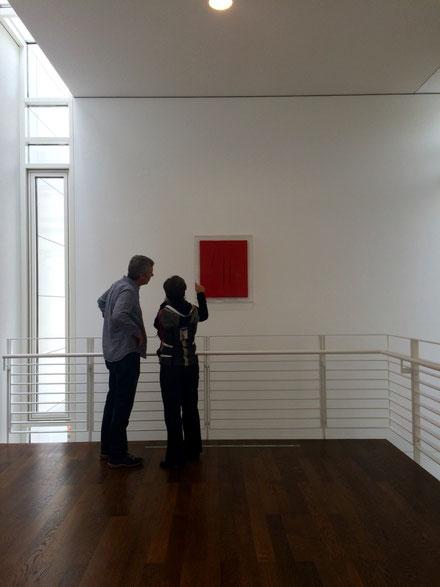Lucio Fontana im Museum Frieder Burda 11/2014