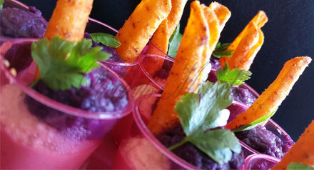Meat, Vegetable, Vegan and Fish Canapes for parties and weddings