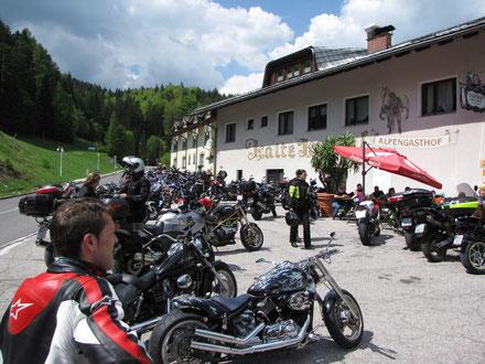 Kalte Kuchl, der Motorradtreffpunkt