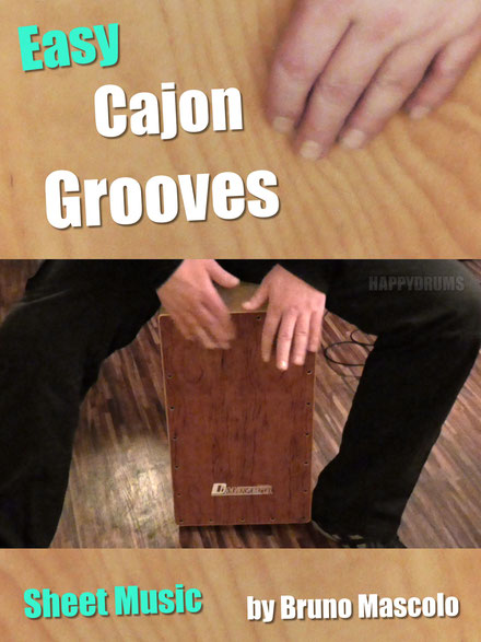 Happydrums Easy Cajon Grooves
