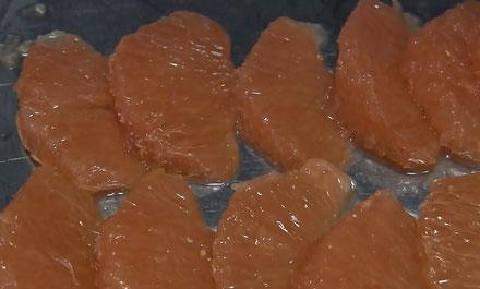 オレンジの剥き方