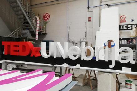 Letras Corporeas para Eventos TEDx