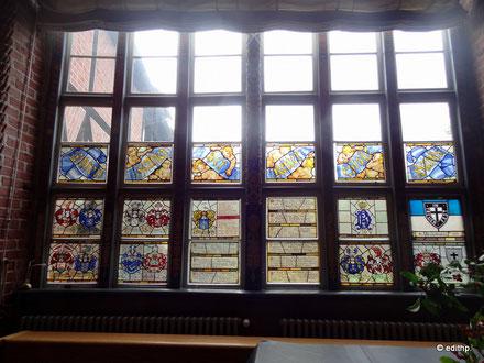 Ehrenfenster der Retter dieses Hauses