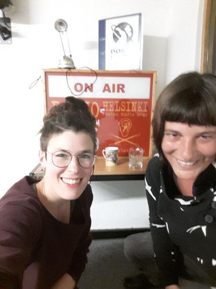 Susanna Kubarth im Radio: Ganz bei Trost auf Radio Helsinki, 92,6