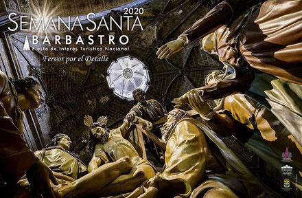 Cartel Semana Santa Barbastro 2020