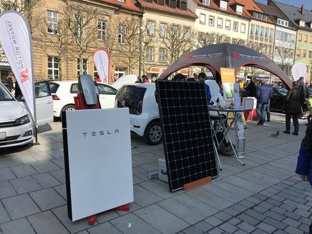 iKratos und Motor Nützel am gemeinsamen Stand bei Bayreuther Autofrühling 2018