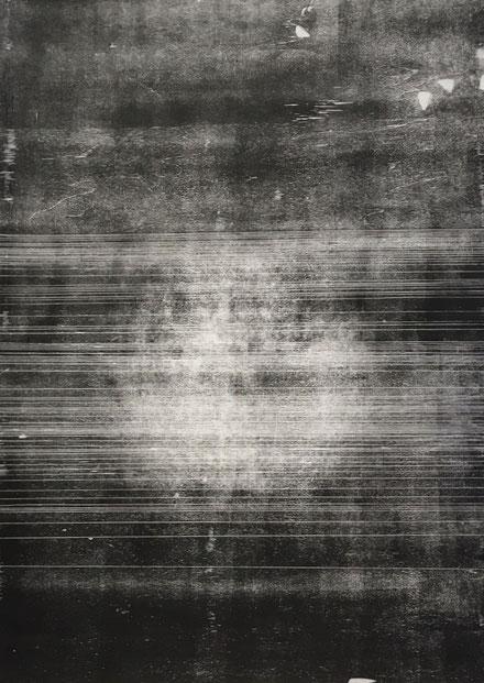 1,5-1,2 cm (IV), 2017, 74,6 x 104cm, Holzschnitt auf Japanpapier