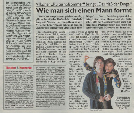Kronen Zeitung, Bericht vom 21.07.2015