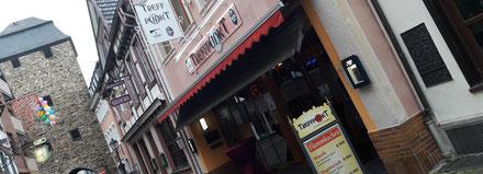 """Die Gaststätte """"Treffpunkt"""" in Ahrweiler ist eine Sky-Sportsbar."""