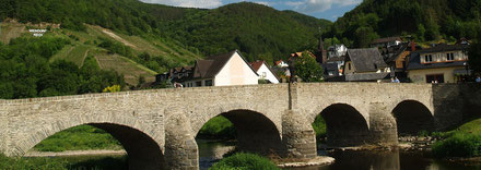 Brücke in Rech im Ahrtal