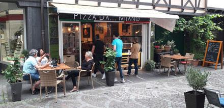 Pizza da Miano in Ahrweiler. Der Spezialist für traditionelle Pizzen aus Italien.