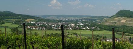 Sicht auf Heimersheim