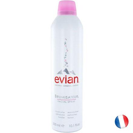 Tubetto in acciaio di Acqua facciale spray Evian Brumisateur