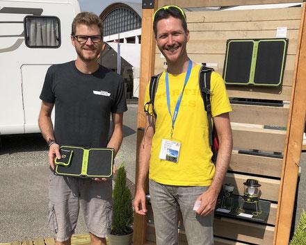 goal zero, solar, Solarmodul, Speicherakku, nomad 7, bikepacking, outdoor