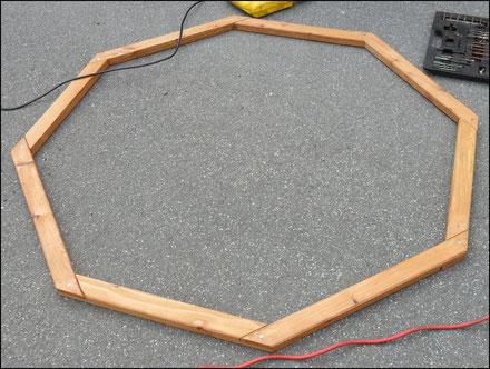 Rahmen für Storchennest