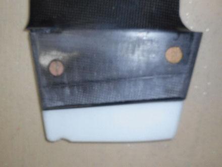 détail de boitier de  windfoil aeromod