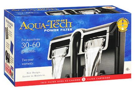 Filtro para acuario pecera aqua tech power filter 30 60 for Filtro para pecera