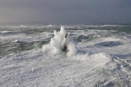 Far Finistère, a la Bretanya francesa, té 37 metres d'altura.