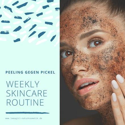 Peeling als Hautpflegeroutine
