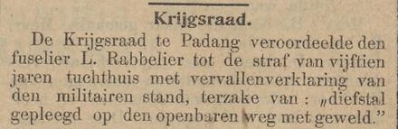 Het nieuws van den dag voor Nederlandsch-Indië 18-12-1908