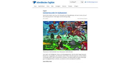 Niels-Schröder,Hamburg,Schwäbisches-Tagblatt,Illustration,Hamburg-singt,Kiel-singt,Chor,Konzert