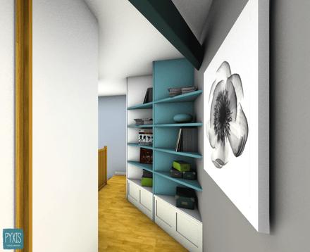 G. Relooking chambres et salle de bain - PYXIS Home Design