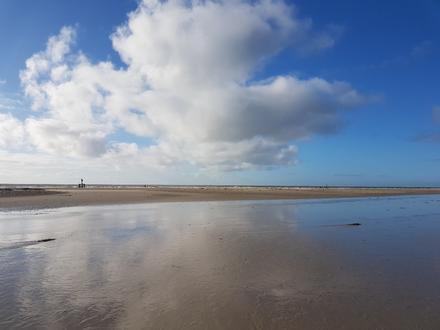 Am Strand auf Amrum