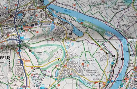 Wanderung an den Rheinauen