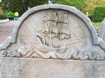 Grabstein auf Amrum