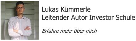 Lukas Kümmerle Investor Schule