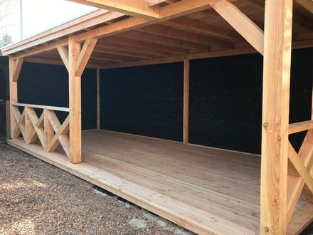 Houten Overkapping Tuin : Terrasoverkappingen douglas terrasoverkapping tuinhuis