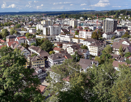 Stadt Uster (Quelle: Google)