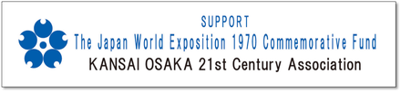 This project is made possible by funding support from The Japan World Exposition 1970 Commemorative Fund.