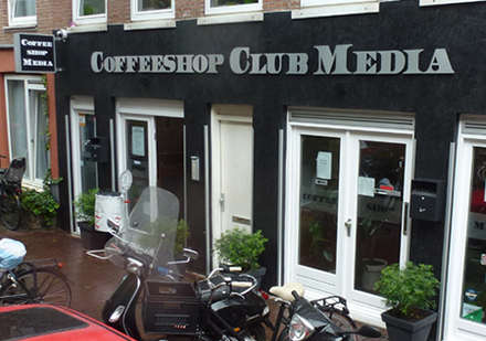 Club Media Coffee Shop - Amsterdam