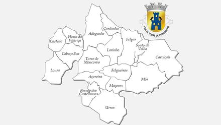 Freguesias do concelho de Torre de Moncorvo antes da reforma administrativa de 2013