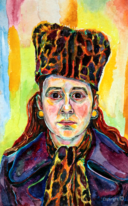 Bettina Heinen-Ayech (1937-2020): Self-portrait, 1968