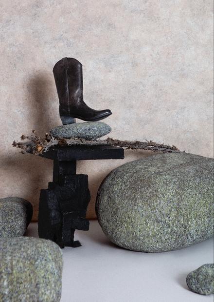 Rocas ficticias, para set fotográfico