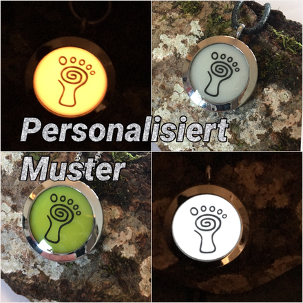 Personalisierter Glow in the Dark Schmuck Muster