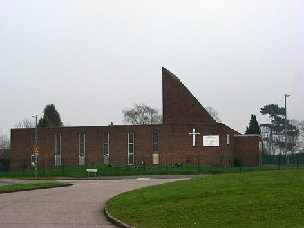 St Richard's Church, Lea Hall, is the parish church of Kitts Green