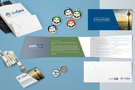 Publicplan Illustration Branding Messe