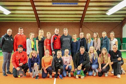 Die neue Tennisabteilung des TuS Frisia Goldenstedt.