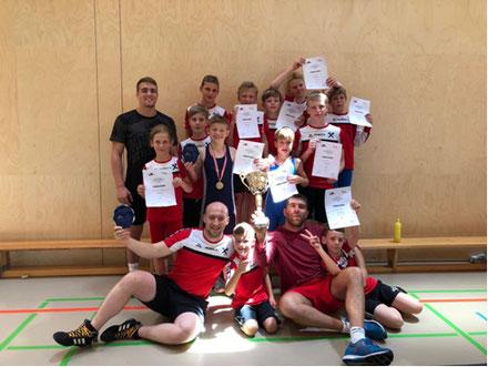 Erfolgreiche RSCI Mannschaft in Klaus