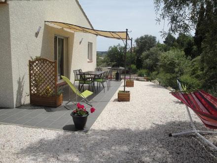 gite pays cathare à Roquefort des Corbières dans l'Aude