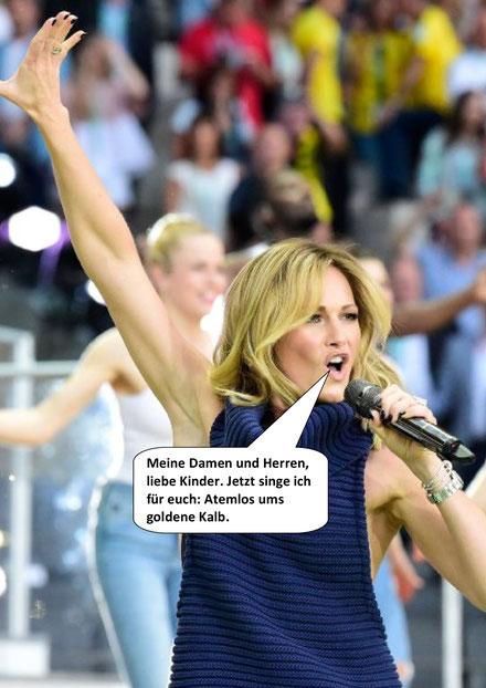 DFB-Pokalfinale 2017, Helene Fischer