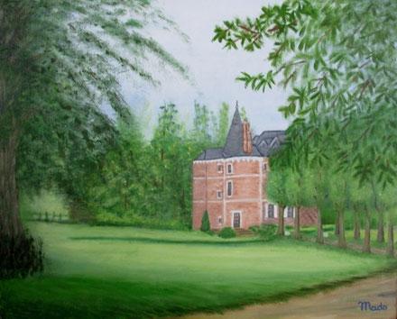 Le château de la Reine Blanche à Normanville (76)